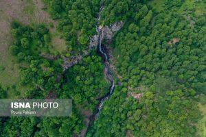آبشار «لاتون» بلندترین آبشار ایران