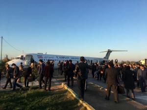خروج بوئینگ کاسپین از باند فرودگاه ماهشهر