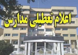 مدارس استان بوشهر تا پایان هفته تعطیل شد