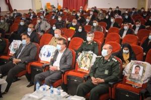 آئین تجلیل از نویسندگان دفاع مقدس دشتستان برگزار شد+تصاویر
